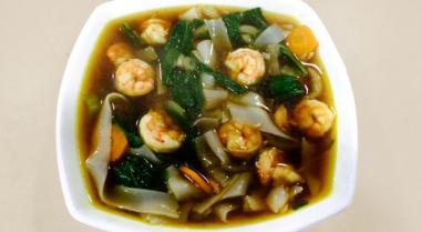 Asian Prawn Noodle Soup