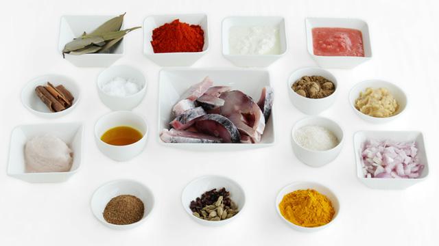 Catla Curry-ingradient