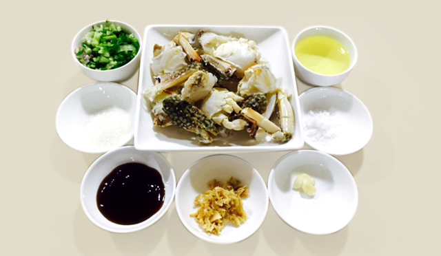 Crab in Oyster Sauce-ingradient