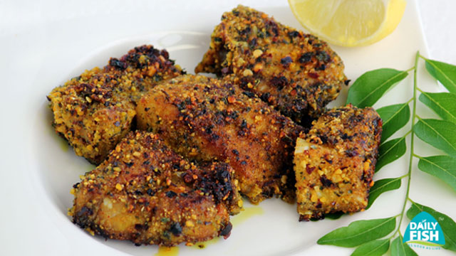 Curry Leaves Fish Fry