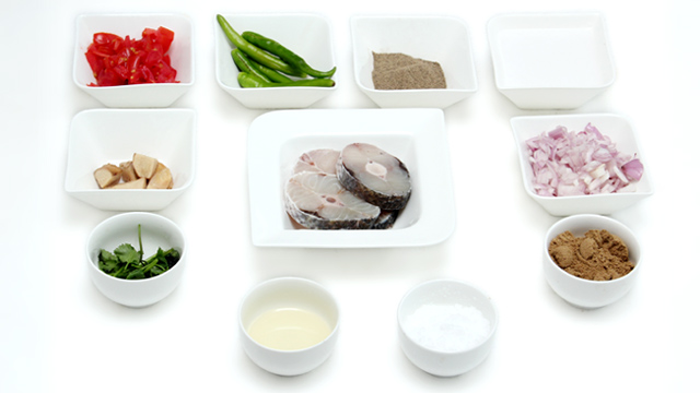 Pepper Fish Masala-ingradient