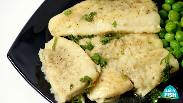Sauted Basa With Lemon Butter Sauce