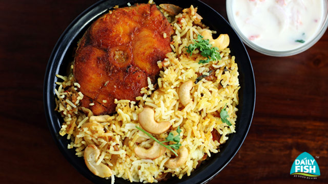 Daily Fish Biriyani