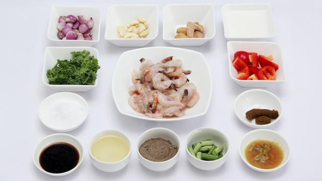 Thai Green Curry Shrimp-ingradient