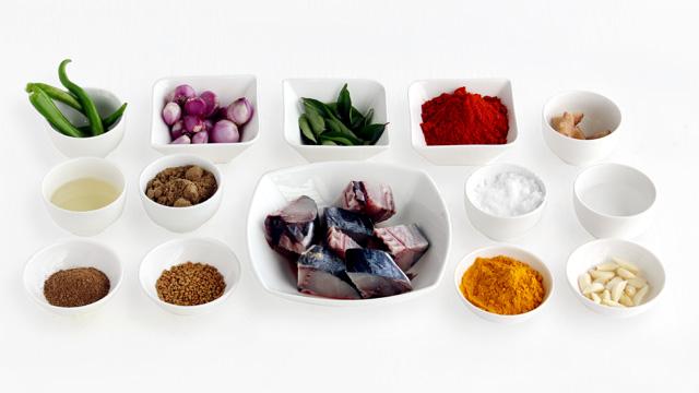 Seer Fish Thala Curry-ingradient