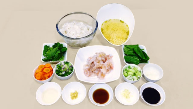Asian Prawn Noodle Soup-ingradient