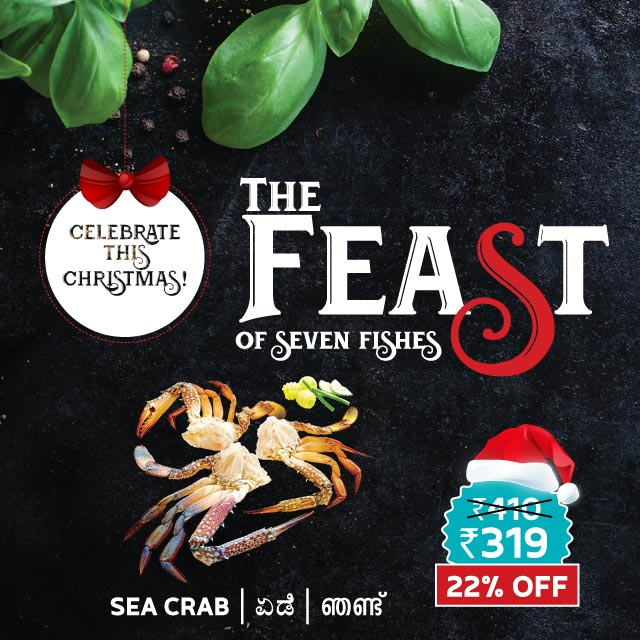 Dailyfish feast of the seven fishes Crab