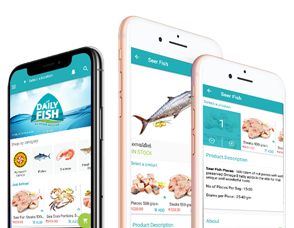 Daily Fish India App Product
