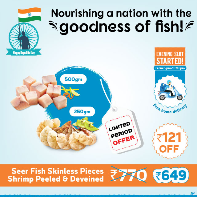 Dailyfish Republic Day Combo