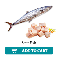 Daily Fish Seer fish Skinless Pieces