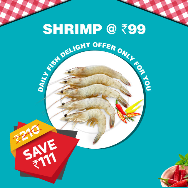 Daily Fish Bengaluru Shrimp2 at 99