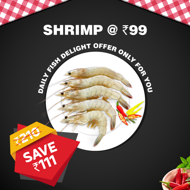 Daily FIsh India Shrimp 99