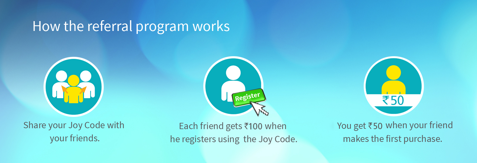 How referral program works